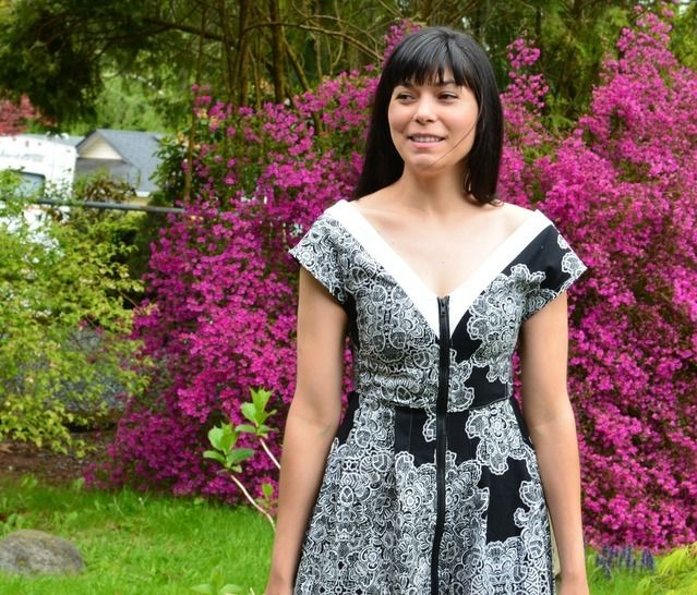 The Issabella Dress and Jacket pattern