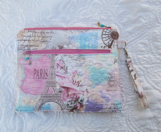 Organizer Pouch~ A Bag with 5 zippered Pockets