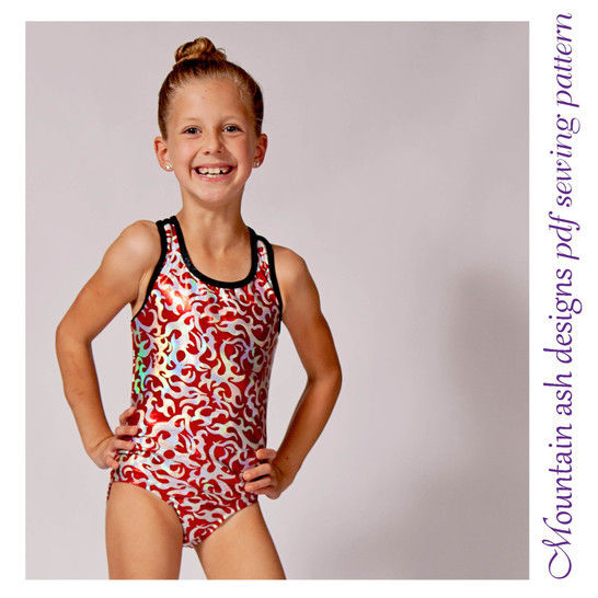 Cassidy Swimsuit and Leotard in Girls Sizes 2-14