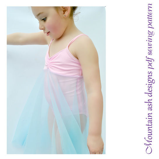 Felicity Dance Costume and Leotard in Girls Sizes 2-14