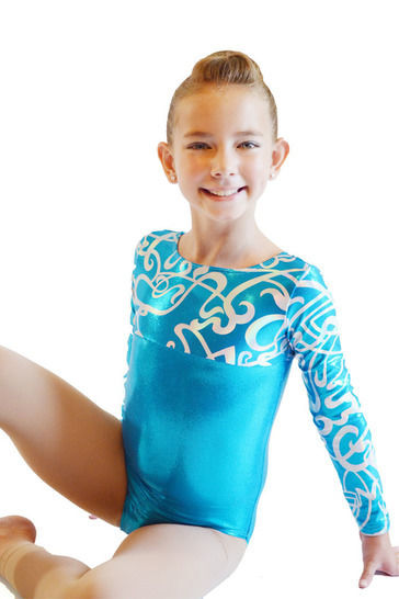 Leotards #2 Long Sleeve Sewing Pattern in Girls Sizes 2-14