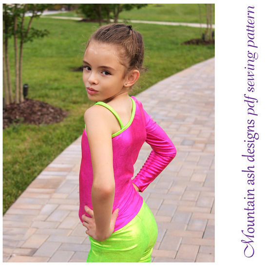 Keira Cheerleading and Dance Tops in Girls Sizes 2-14