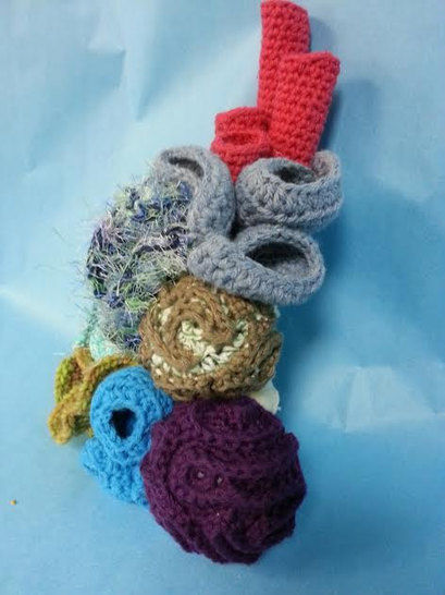7 in 1 Coral Reef Amigurumi Crochet Pattern + Tutorial - Beginner Friendly