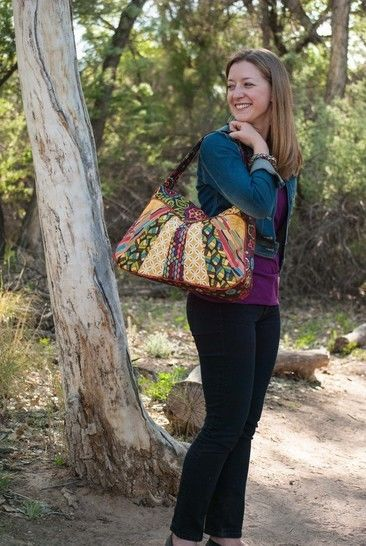 Sunburst Sling Sewing Pattern by Jen Fox Studios