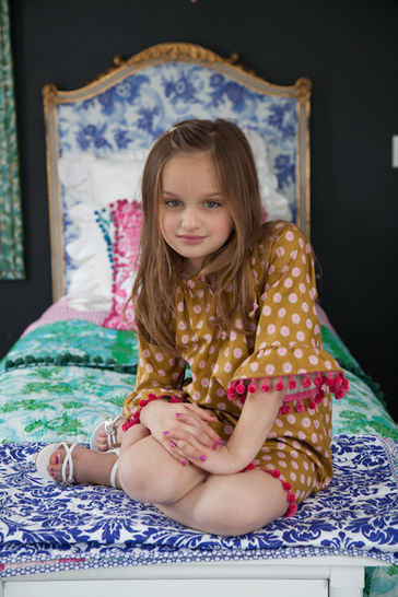 Sis Boom Pattern Co Leighanna Dress/Top for Girls
