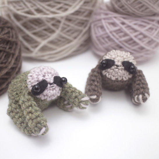 Amigurumi sloth crochet pattern