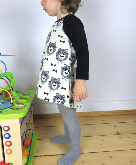 Girl's tunic top sewing pattern