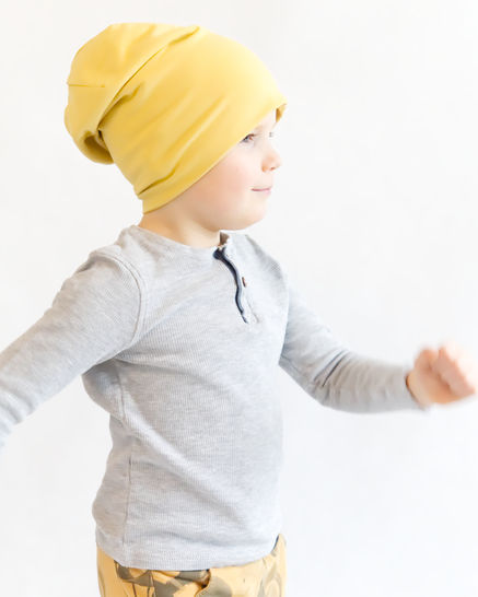Sewing patterns and tutorials - slouchy and classic beanie
