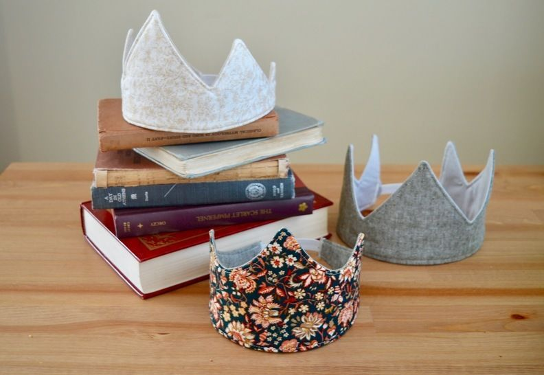 Fabric Crown Pattern! 3 Unique Styles
