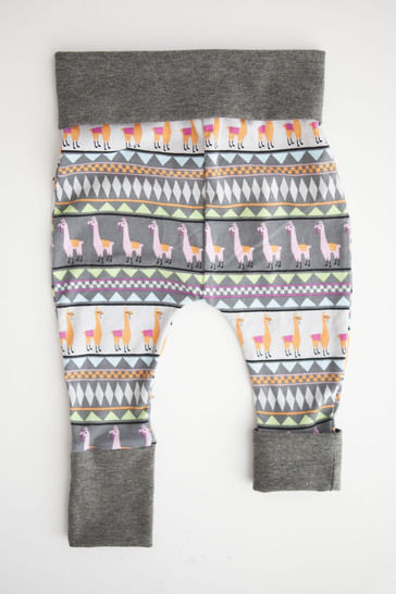 Grow With Me Harem Pants-Detailed Sewing Pattern