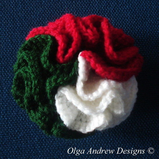 Christmas tree balls crochet pattern 037