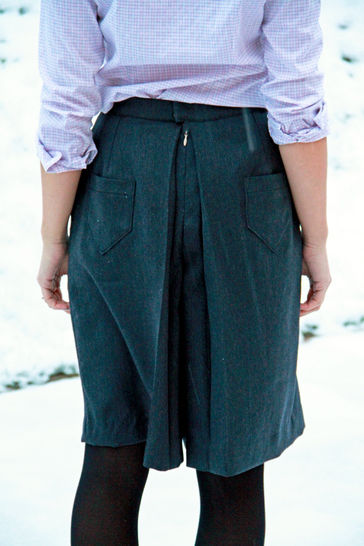 Ladies culottes pattern (EU 32 - 52)