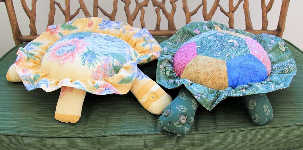 Turtle Pillow Sewing Pattern