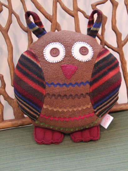 Owl Pillow Sewing Pattern