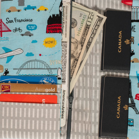 Family Passport Holder - PDF Sewing Pattern for ALL your travel documents in one place