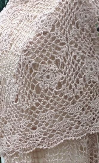 Lacy Crochet Wrap Pattern