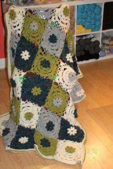 Chunky Throw Crochet Pattern