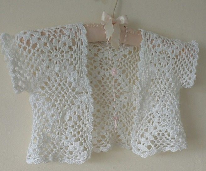 Communion Crochet Bolero