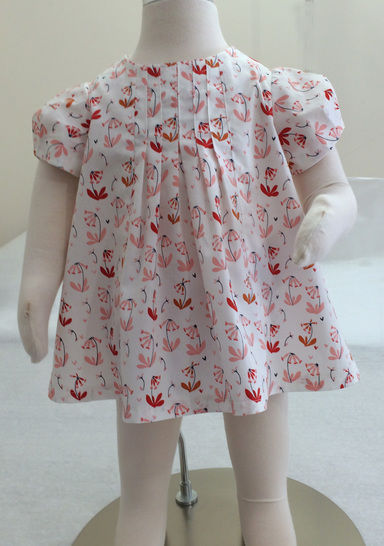 Baby & girls dress, tunic or top sewing pattern -- Shelley Dress & Top