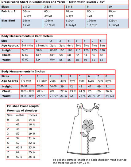 Girls Dress PDF Sewing Pattern -- The Petal Reversible Dress or Tunic