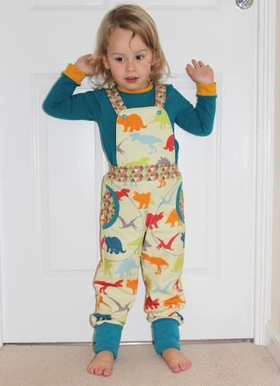Kids Dungarees and Track Pants PDF Sewing Pattern
