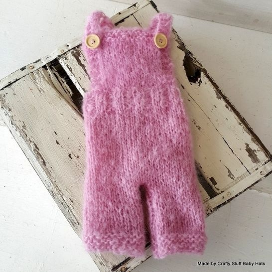 Sitter Size (6 -9 months) Dungaree Romper