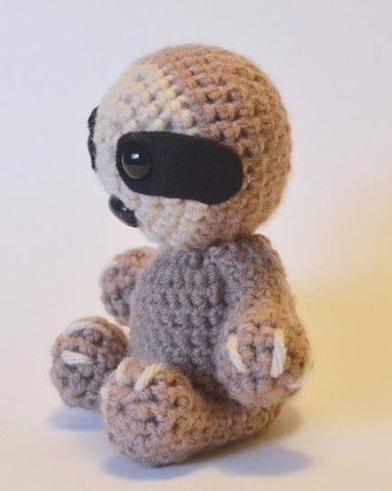Crochet Sloth - Detailed pattern