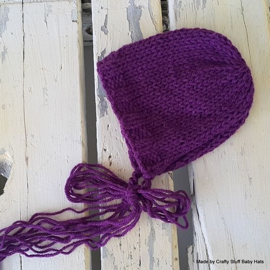 Baby Bonnet Double knit / Worsted