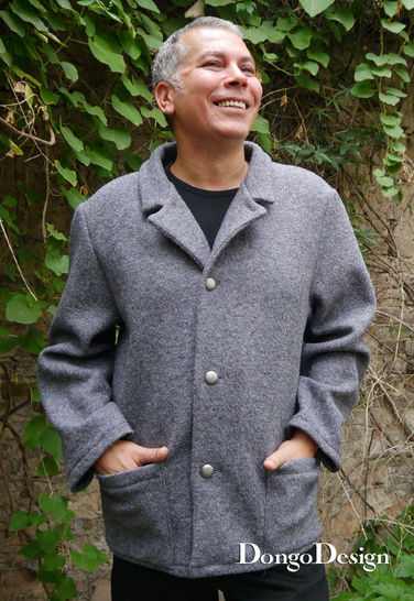 PDF Pattern E-Book jacket Wilhelm with  Sewing instructions