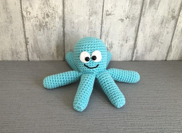 Crochet Pattern Octopus
