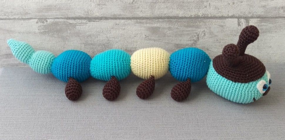 Crochet Pattern Caterpillar