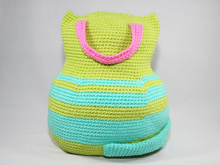 Cat - Doorstop - Crochet Pattern