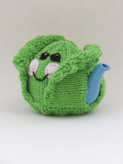 Brussels Sprouts Mini Tea Cosy Knitting Pattern