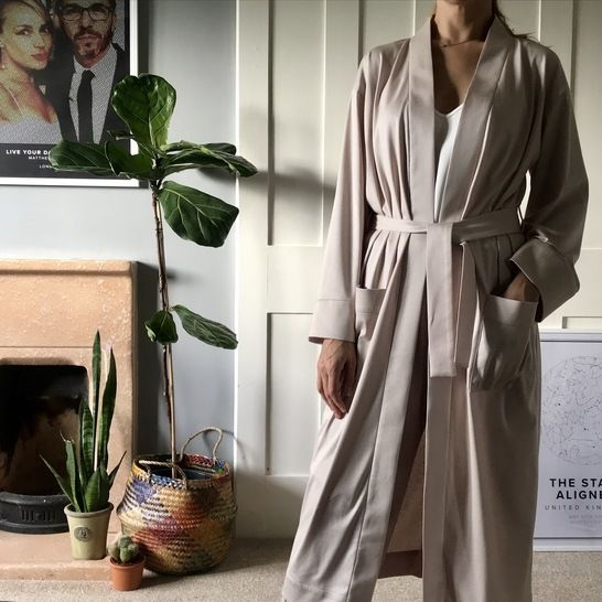 Lounge Robe PDF Sewing Pattern