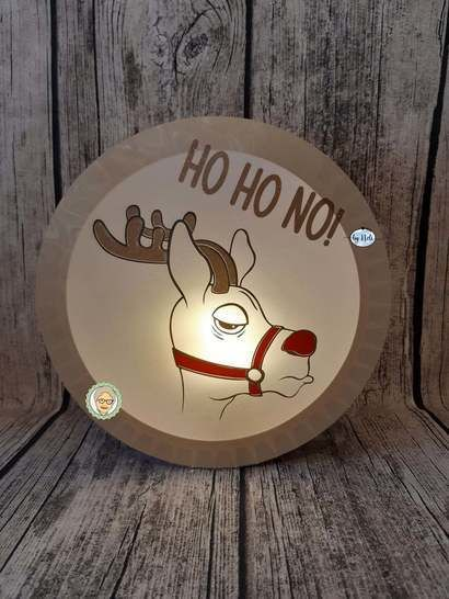 Cutting file cool reindeer for christmas haters