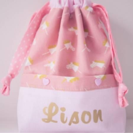 Patron de couture sac à dos pochon Lison