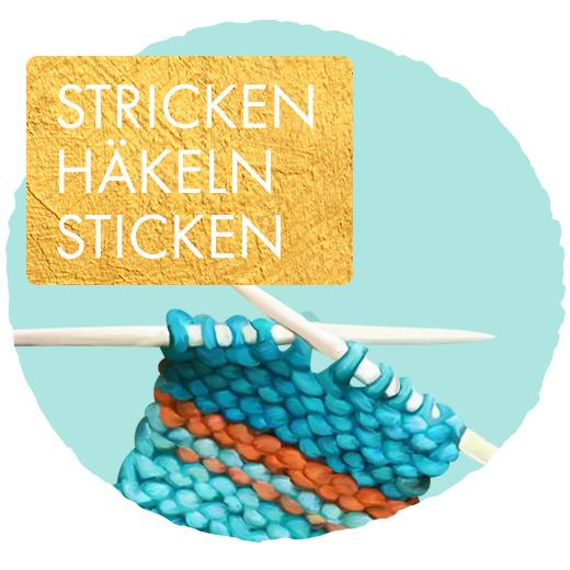 Stricken/Häkeln/Sticken/