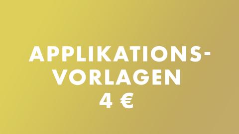 Applikationsvorlagen 4 €