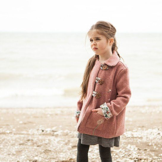 Pixie Pea Coat - Sizes 1-14 UNISEX PDF Pattern