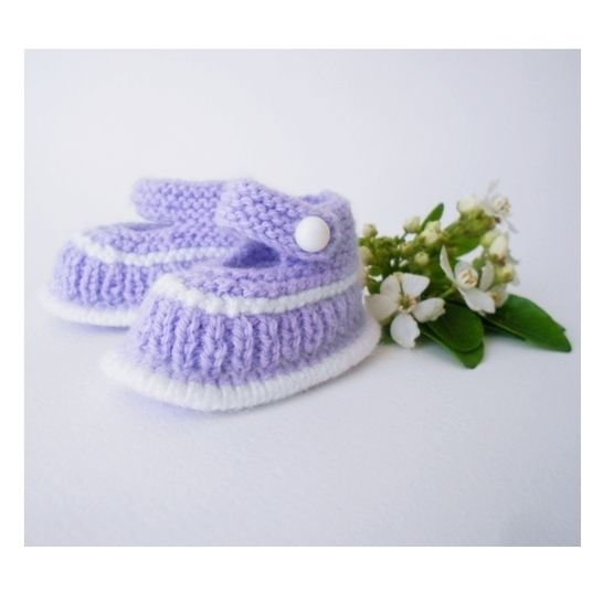 Chaussons Lilas