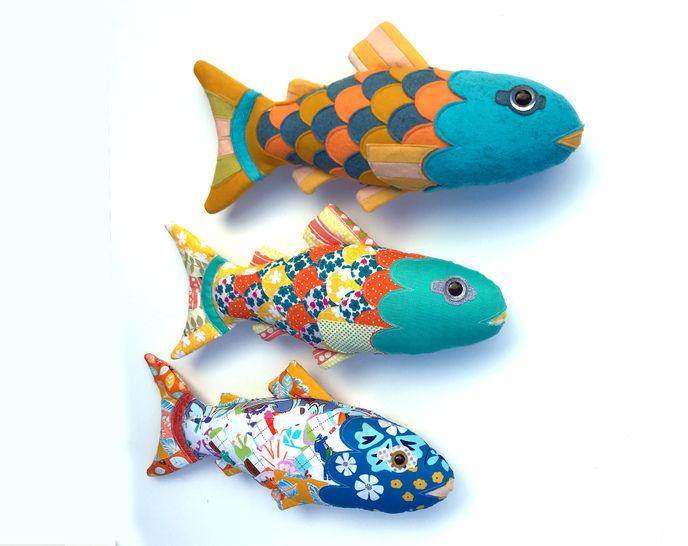 Salmon of Knowledge - Craft sewing project - pdf