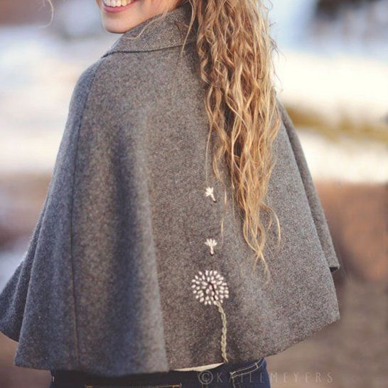 Adult Traveller Cape - Babywearing - PDF Pattern