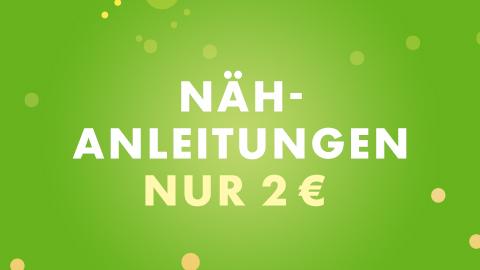 Nähanleitungen 2 €