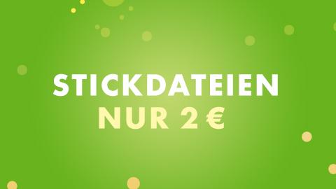 Stickdateien 2 €