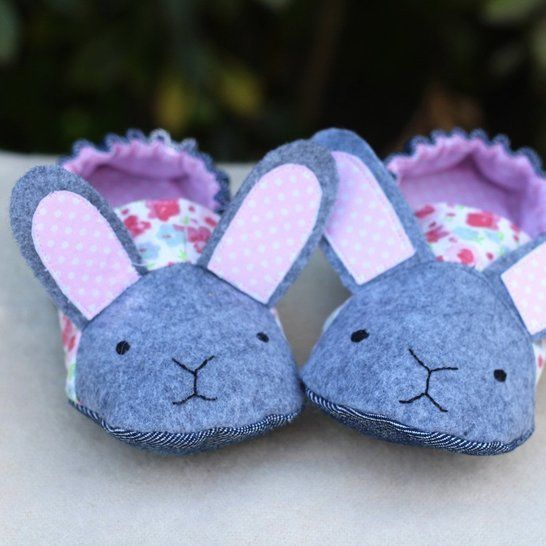 Animal Big Kids Shoes - PDF Sewing Pattern