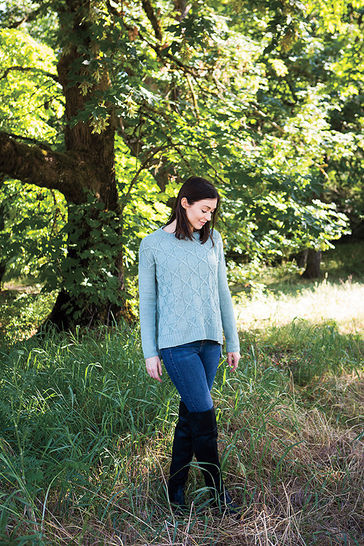 Game Theory pullover - hand knitting pattern