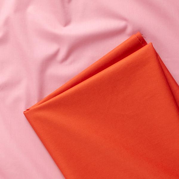Tissu en coton Popeline Uni