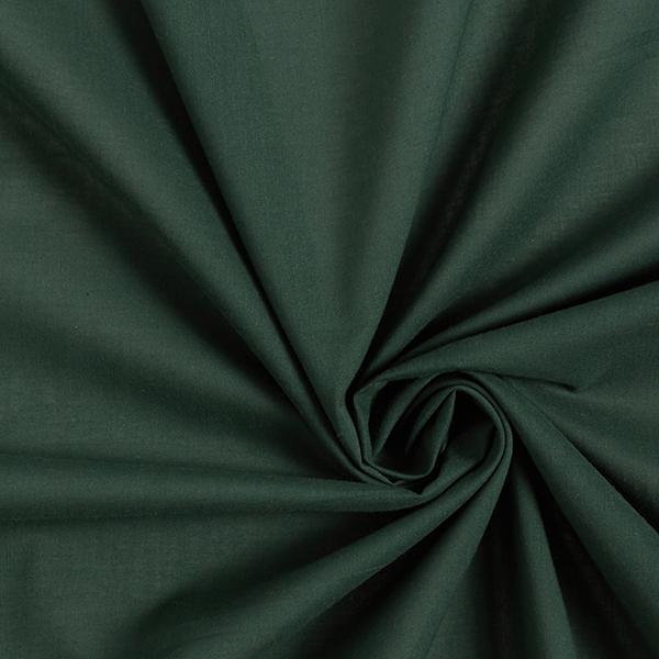 Batiste de coton uni - vert foncé