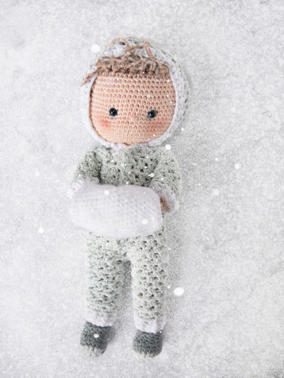 """Outfit """"It's cold Outside""""  für Anziehpuppe Toni"""
