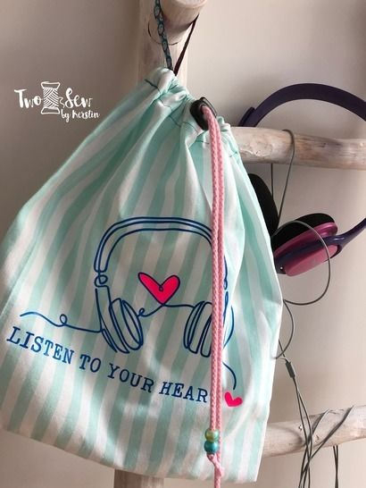 "Plotterdatei ""Listen to your Heart"" SVG + DXF"